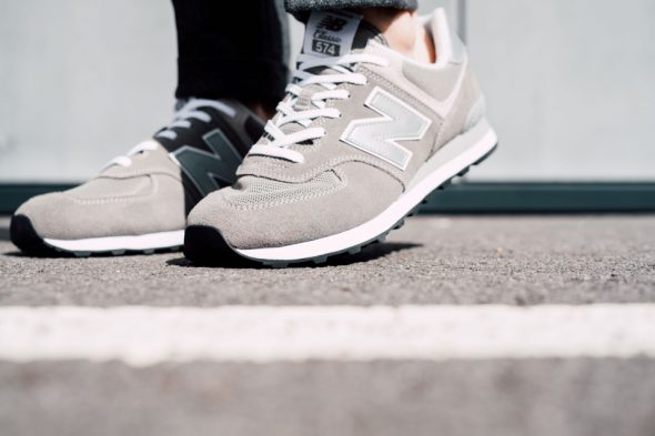 New Balance 574 Classic look action