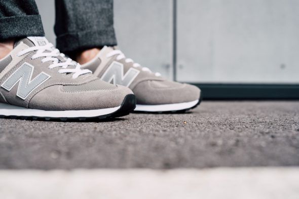 New Balance 574 Classic look pointes