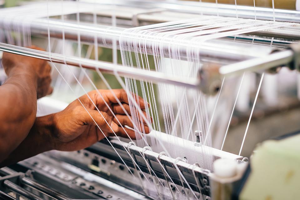 Machine textile