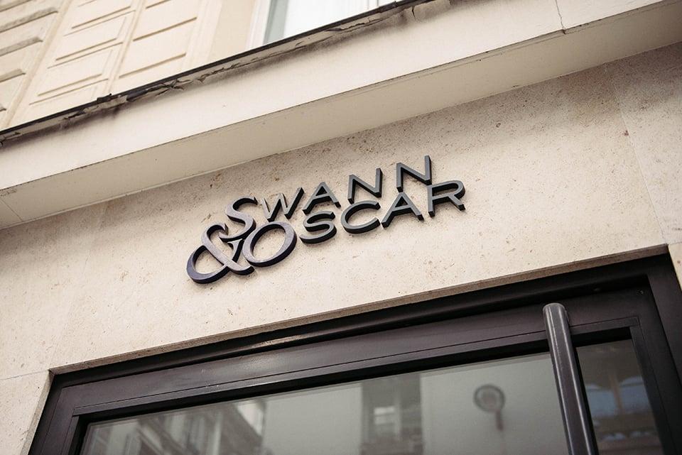 Swann Oscar Logo Mur
