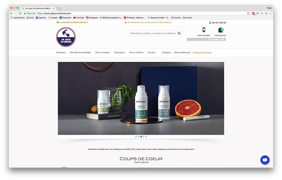 Un jour un homme, l e-shop dédié à la cosmétique masculine   Test   Avis 4e74d58d505c