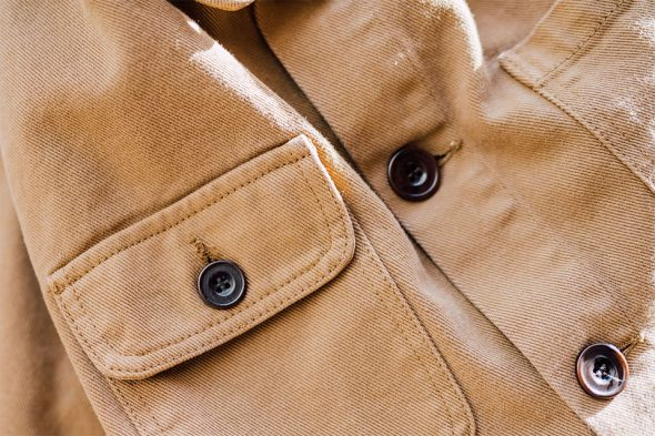 veste de travail olow boutons poche