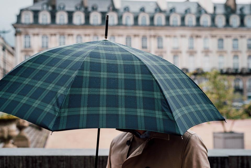 Habiller Pleut Chic Parapluie