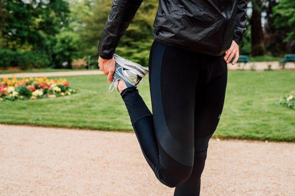 Habiller Pleut Course Legging
