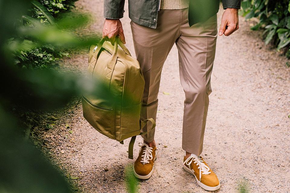Pantalon hugo boss beige