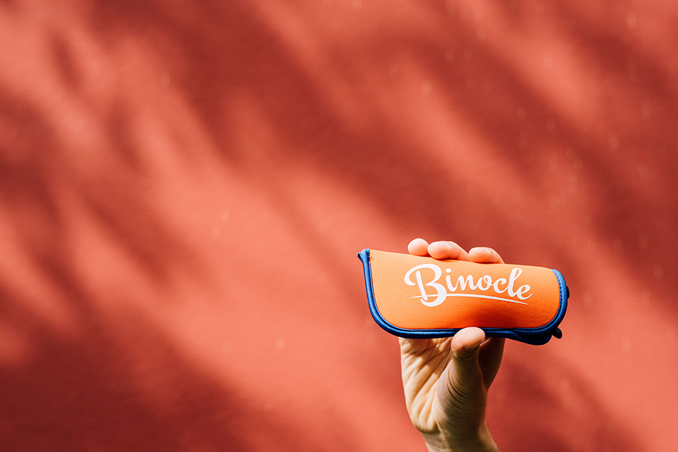 Vp BInocle Etui Orange