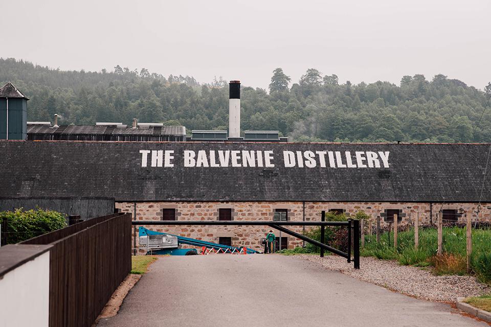 Glenfiddich Balvenie Toit