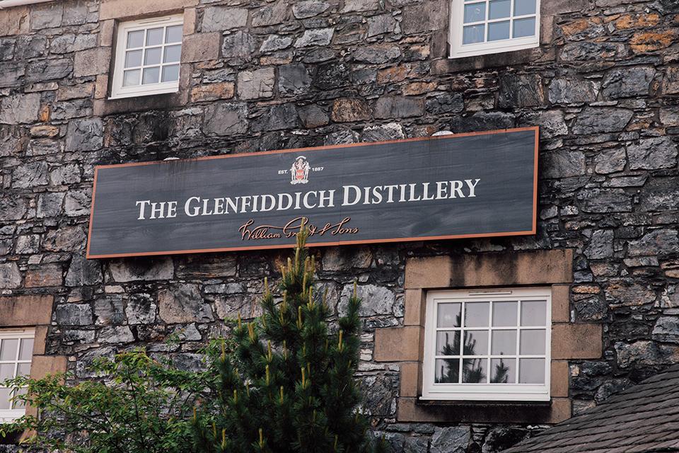 Glenfiddich Pancarte