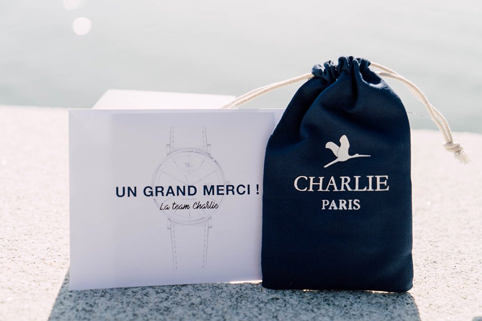 Charlie Watch Merci