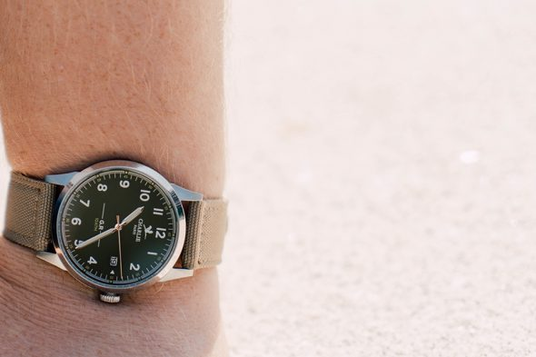 Charlie Watch Portee Cadran Vert
