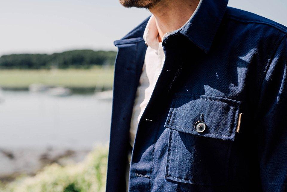 look max ter details veste de travail basus