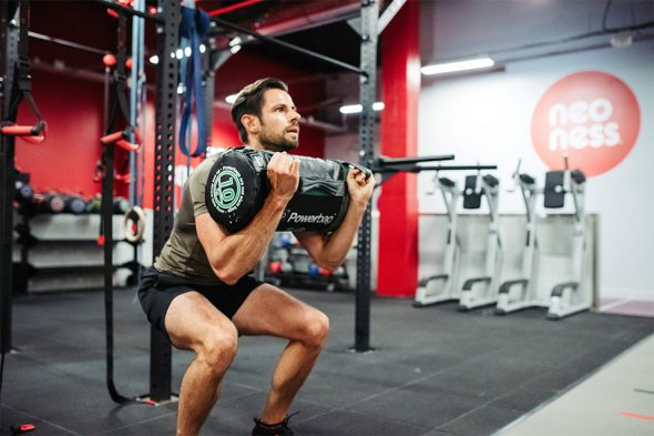 max test noeness powerbag squat