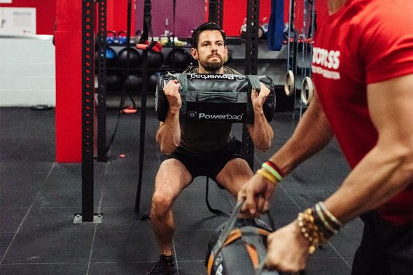 max test noeness powerbag squat face