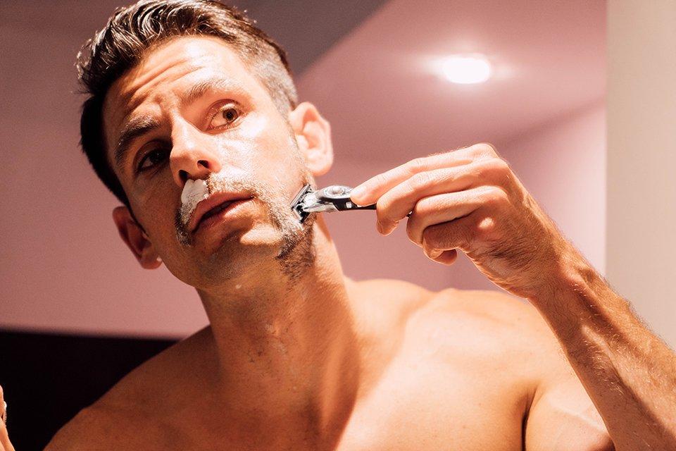 Bic Shave Club Rasage