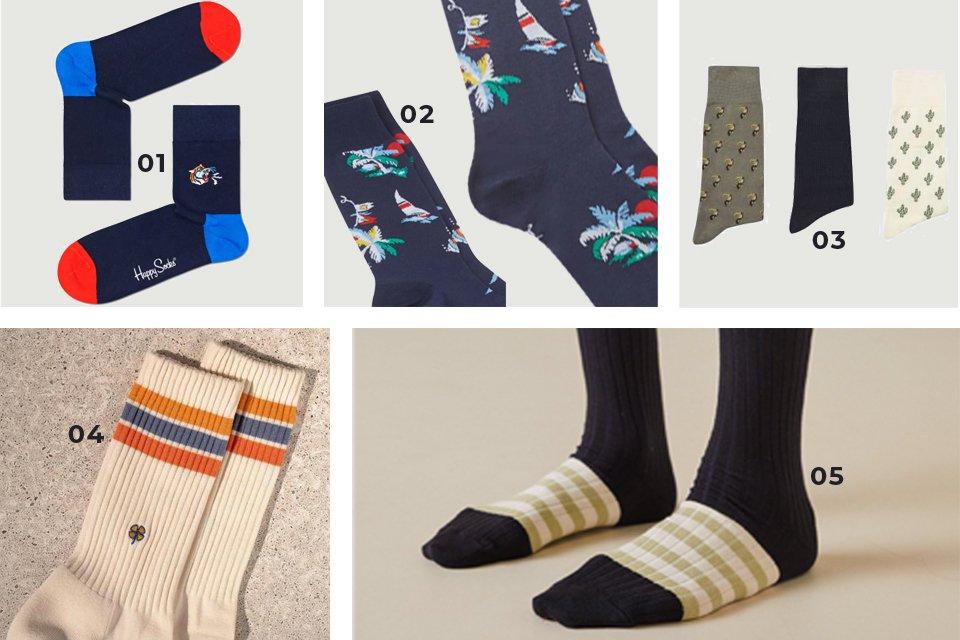 chaussettes soldes ss21