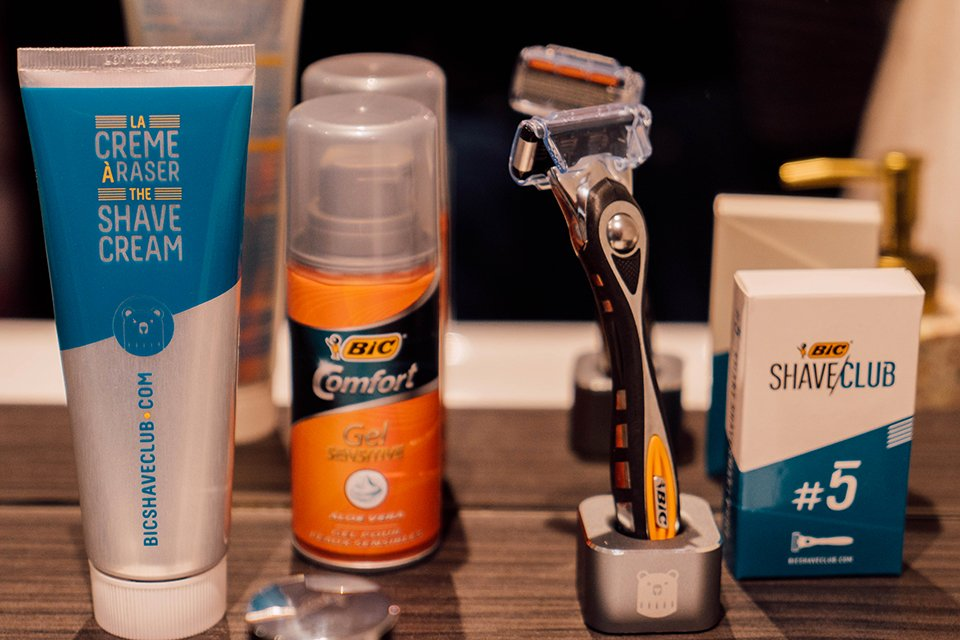 cosmetiques bic shave club