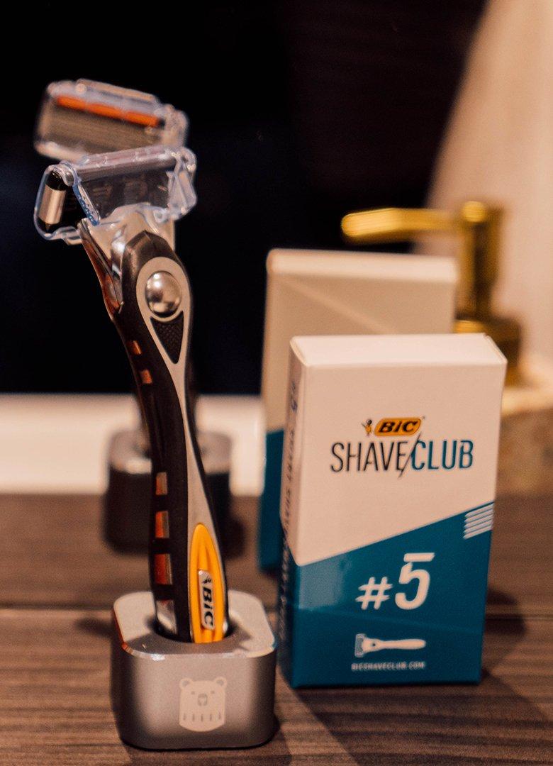 focus rasoir bic shave club