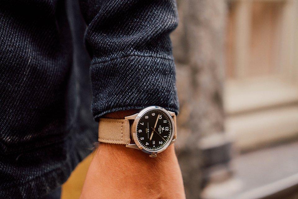 look indigo gr charlie watch