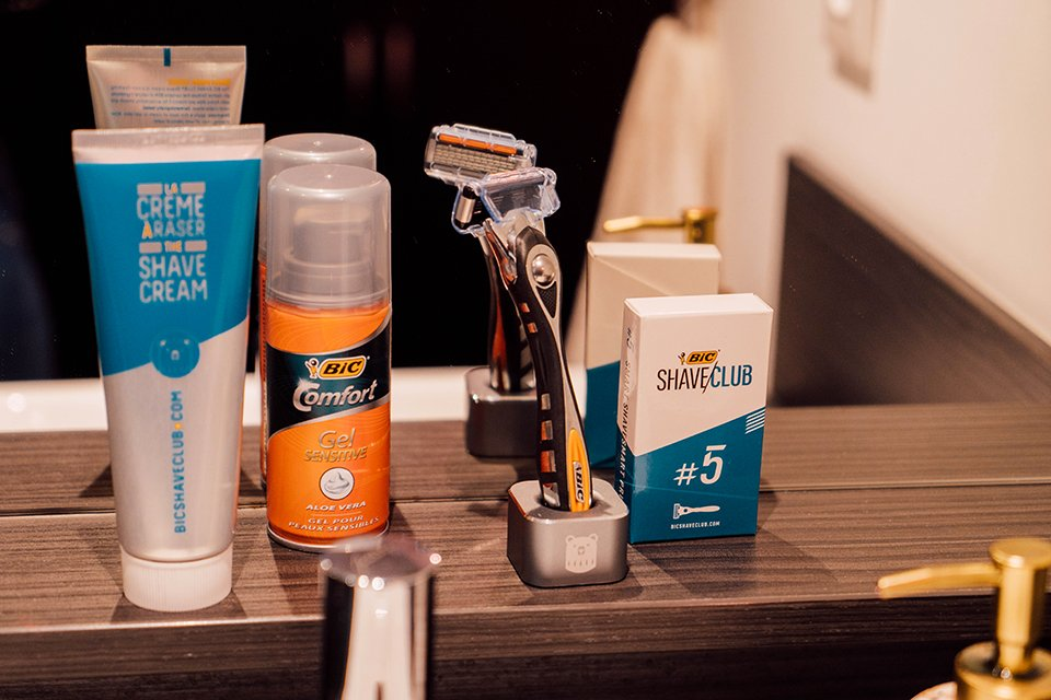 pack bic shave club
