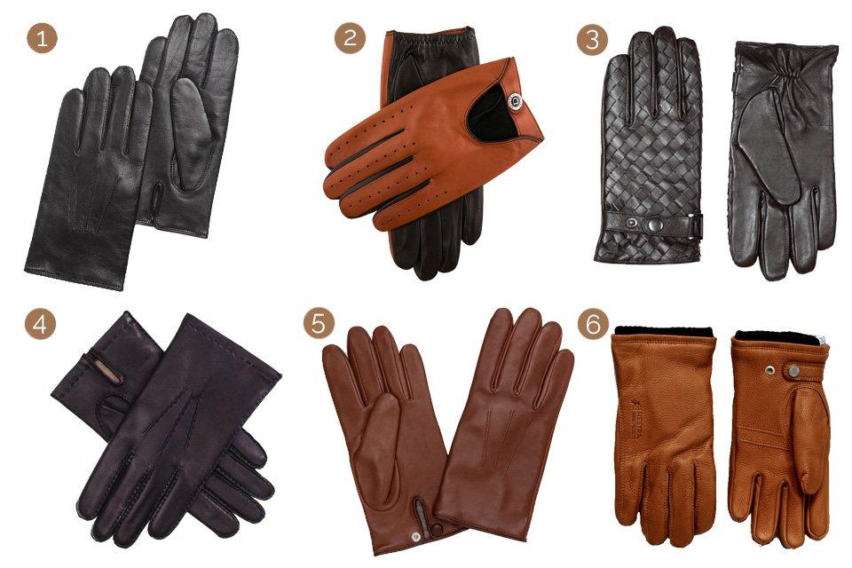 selection gants cuir v2 accessoires hiver