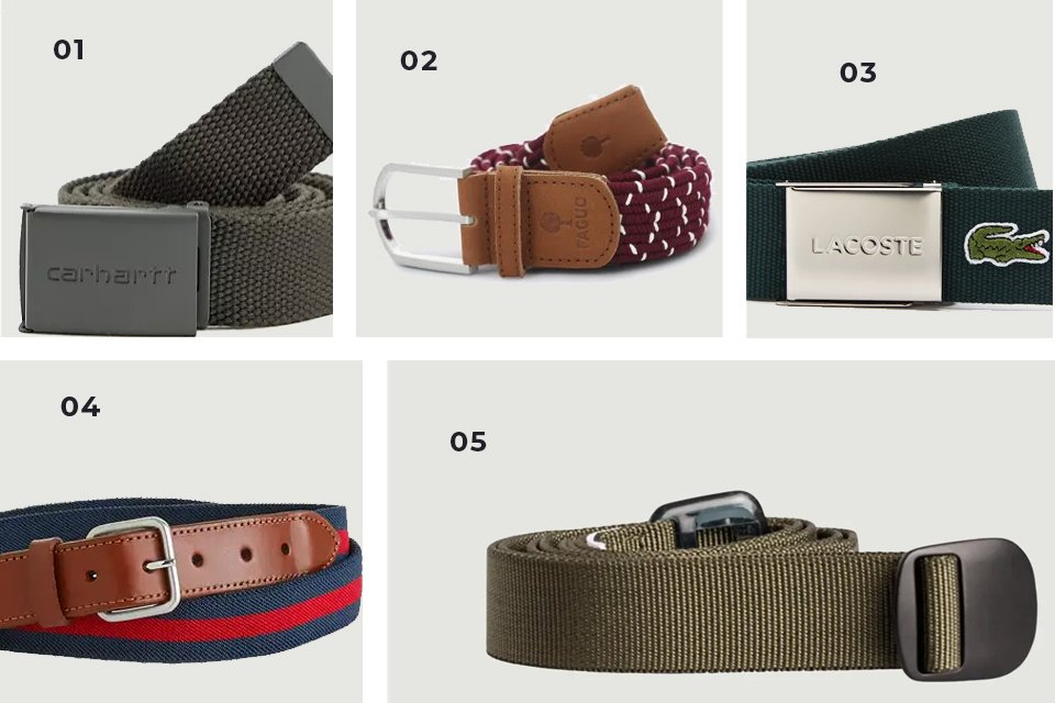 selection soldes ceintures tissus SS21