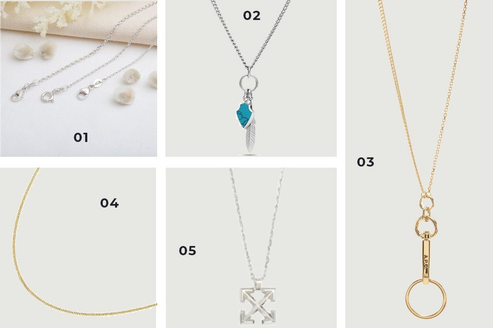 selection soldes colliers SS21