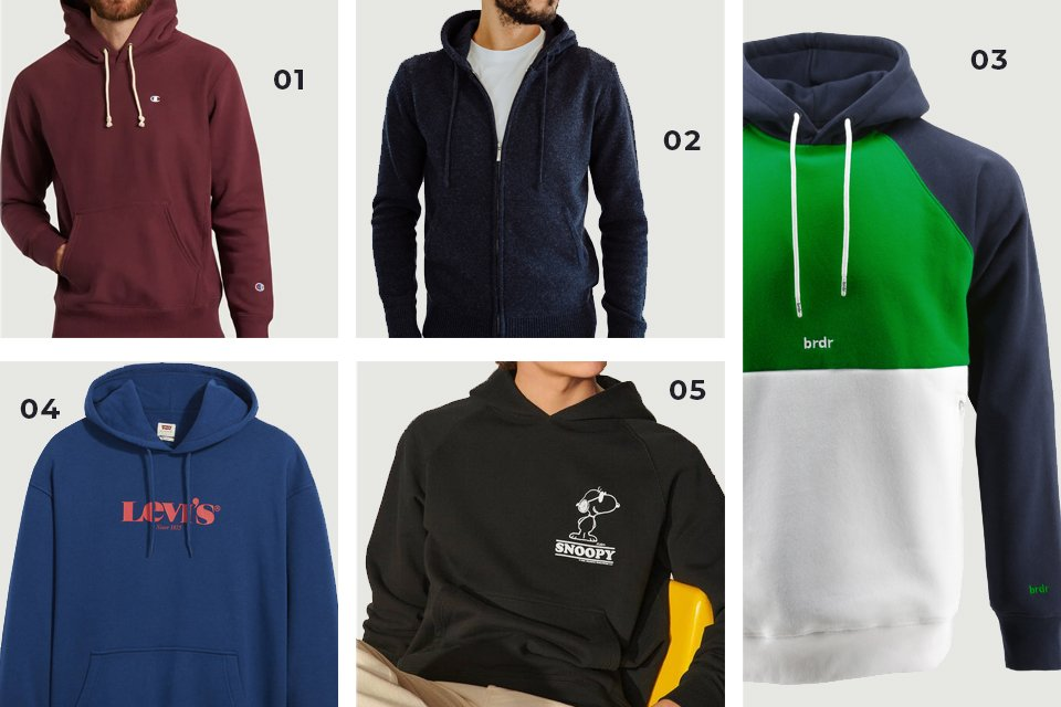 selection soldes hoodies SS21