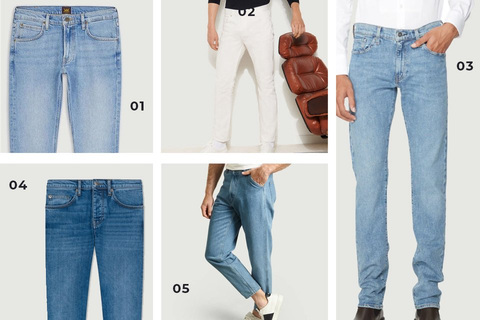selection soldes jeans clair SS21