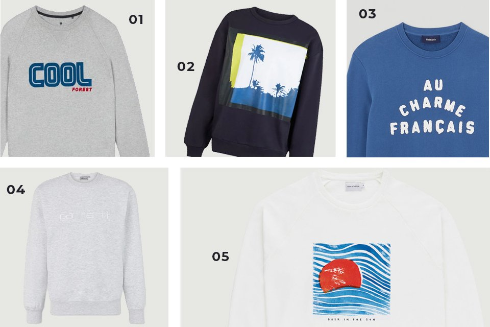 selection soldes sweat 2 SS21