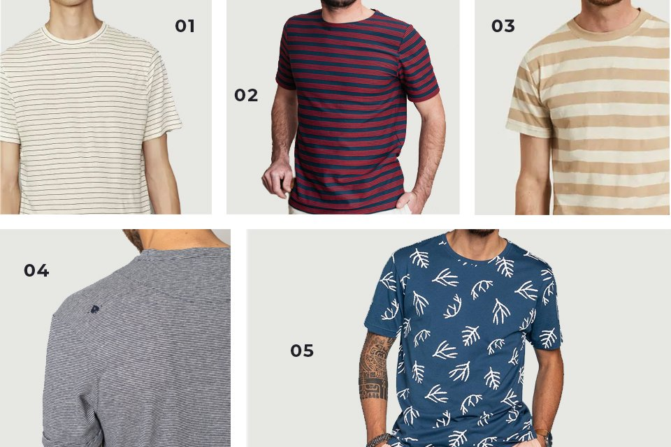selection soldes t shirts imprimes SS21