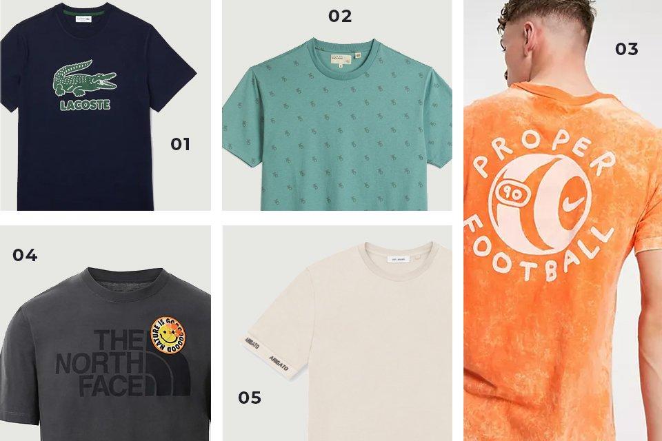 selection soldes t shirts logo V2 SS21