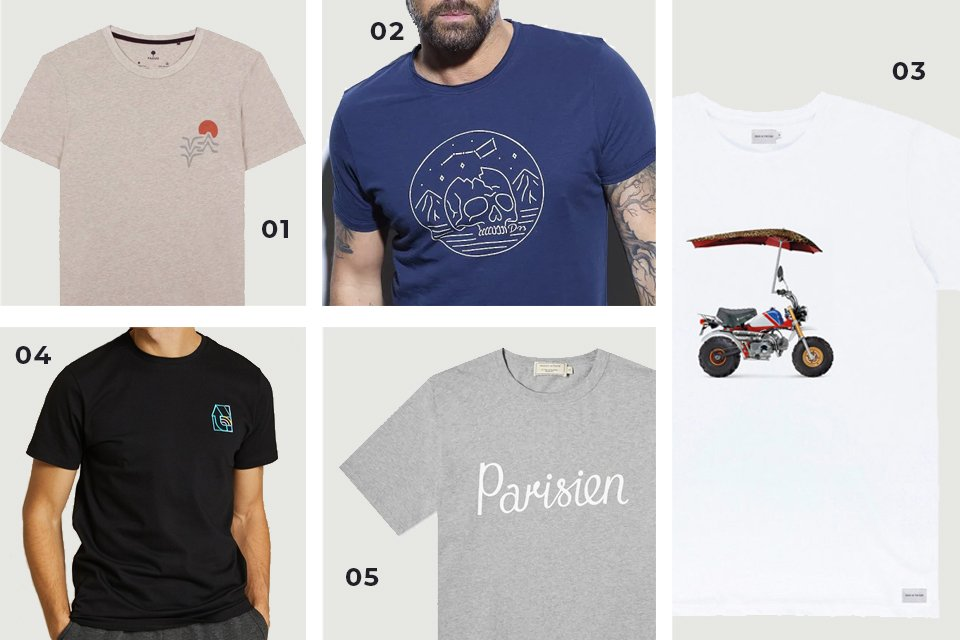 selection soldes t shirts motifs SS21