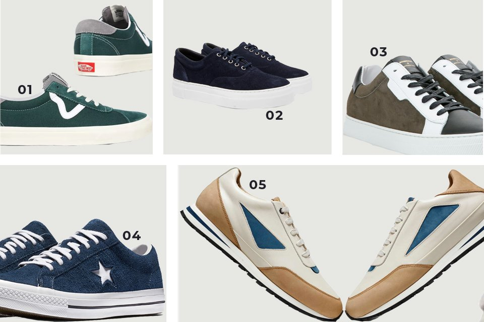 sneakers couleurs soldes FW20