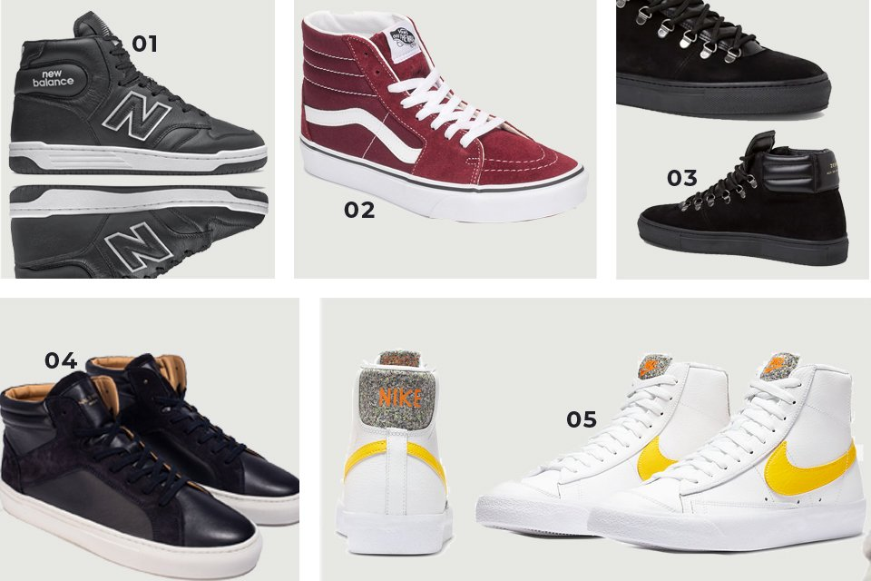 sneakers montantes soldes FW20