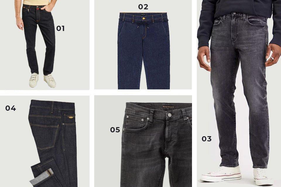 selection soldes jeans fonces SS21