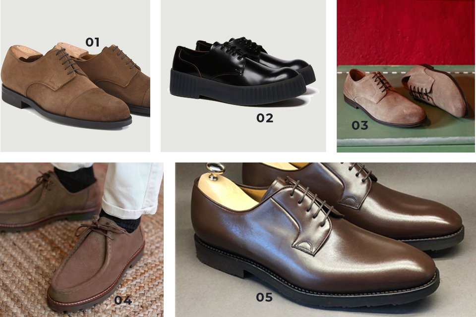 soldes SS21 chaussures derby