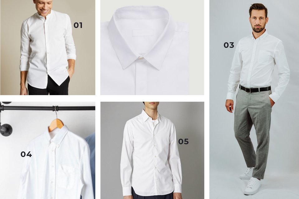 soldes SS21 chemise blanche