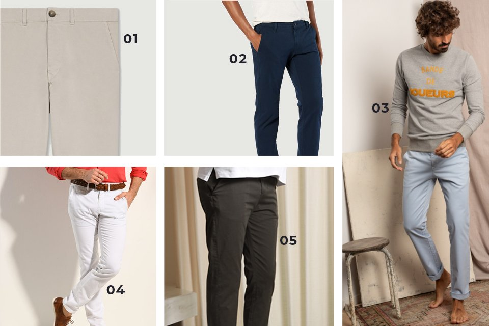 soldes ss21 chinos