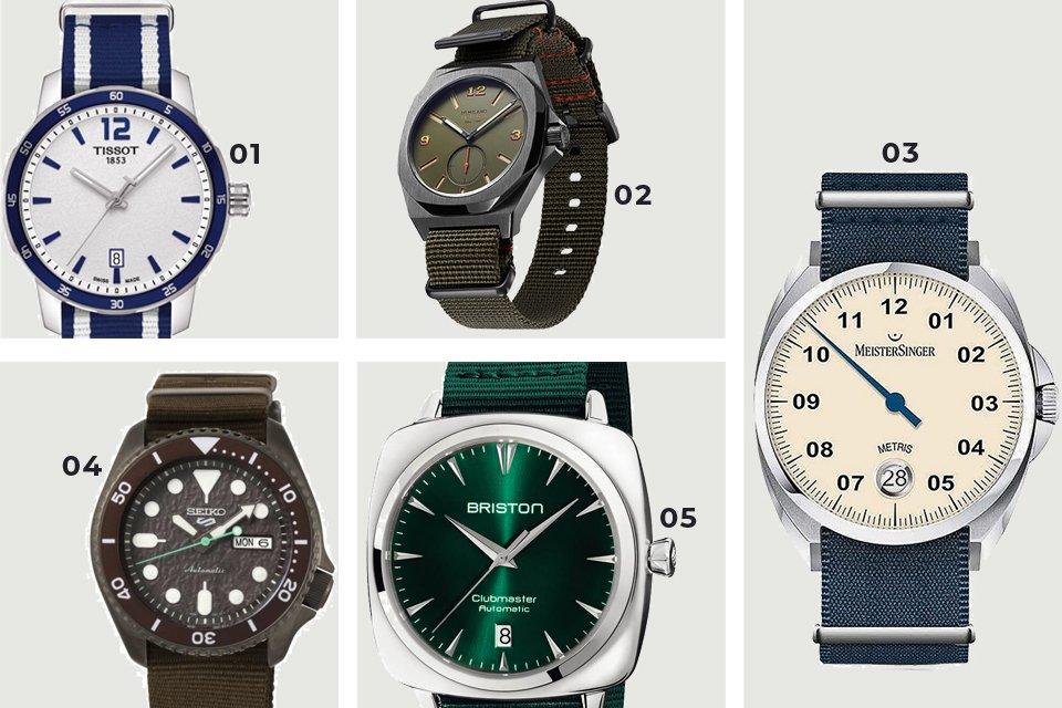 soldes ss21 montres nato