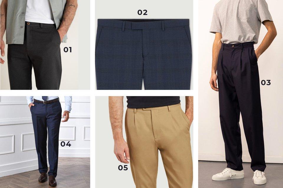 soldes ss21 pantalons formels