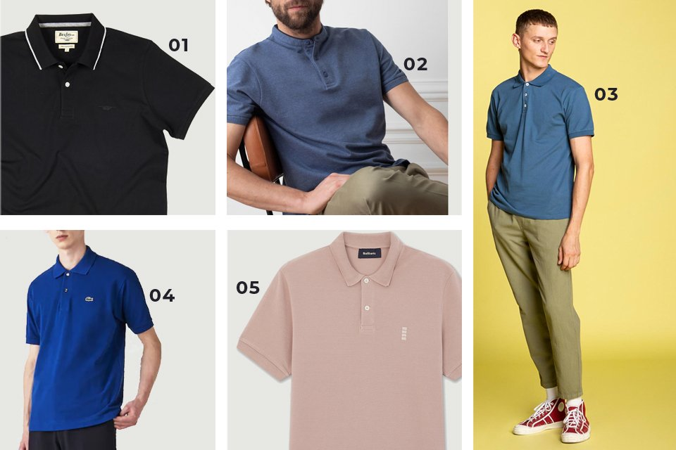 soldes ss21 polos 2