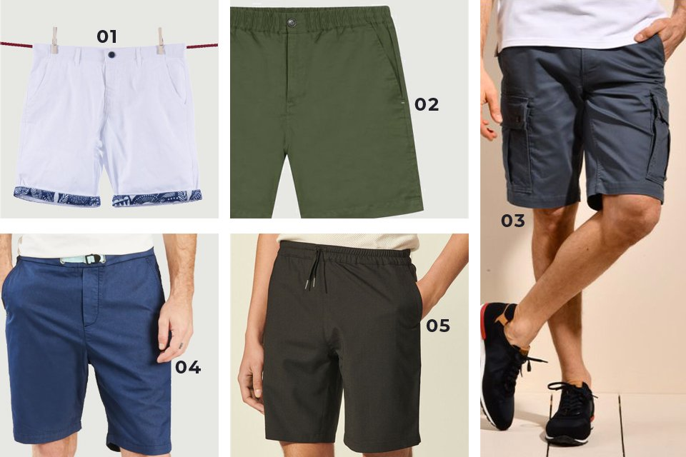selection shorts soldes