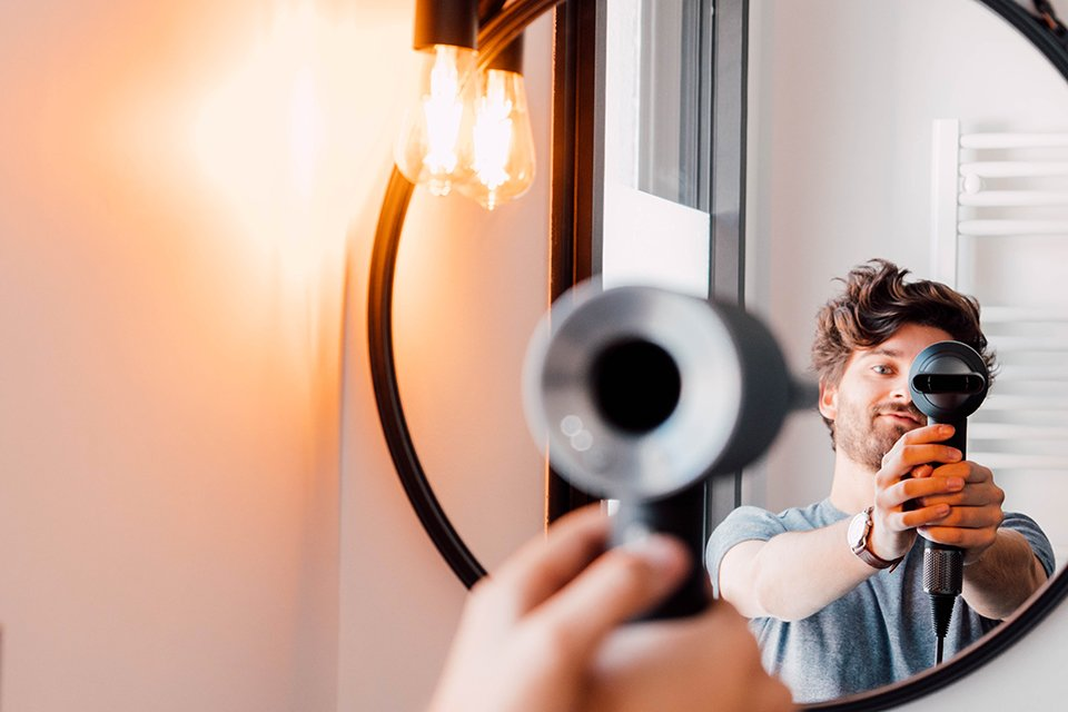 dickson seche cheveux miroir