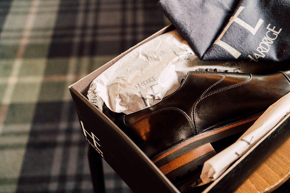 Hardrige Bald Chaussure Boite