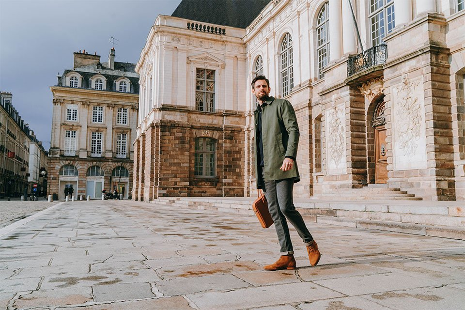 look homme mackintosh max parlement