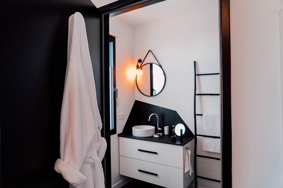 salle de bain comme un camion