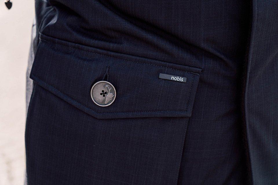 test parka yves nobis poche marque