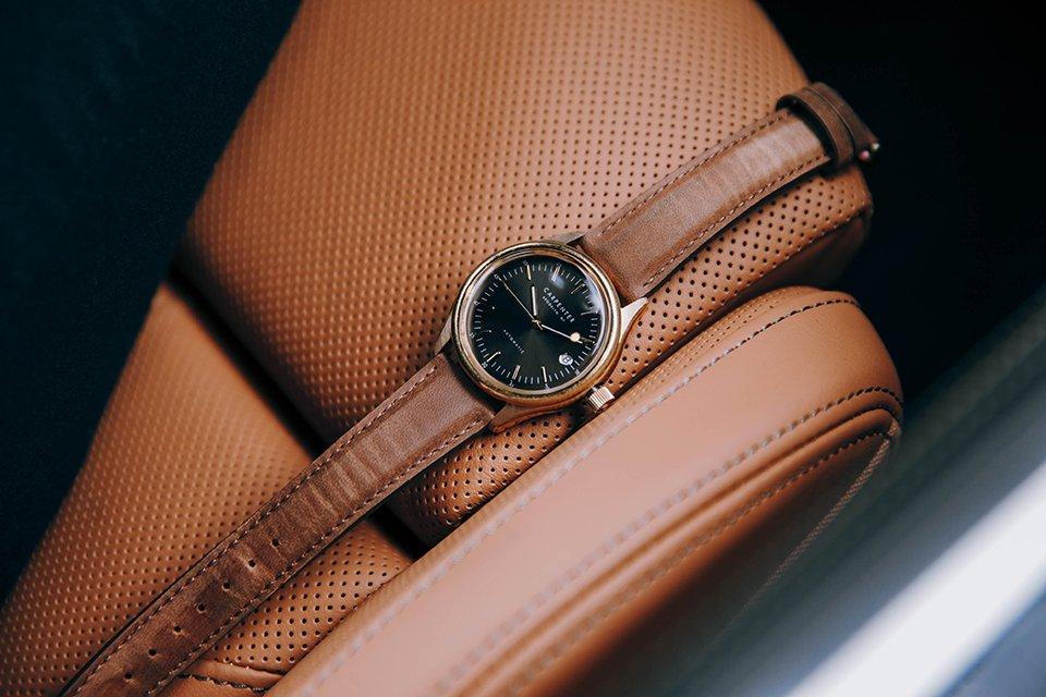 BMW Serie 8 cuir fauve