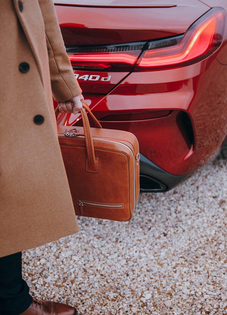 BMW Serie 8 arriere