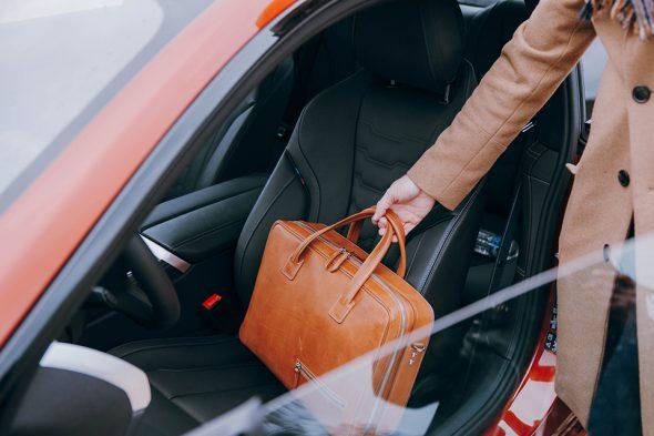 BMW Serie 8 intérieur cuir noir